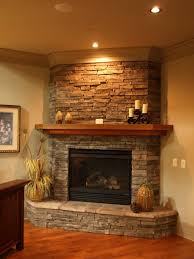 sweet fireplace kitchen corner fireplaces rock stacked mantles house best free home design idea inspiration
