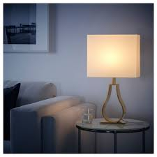 Ikea Klabb Table Lamp Off White Brass Color In 2019 Products
