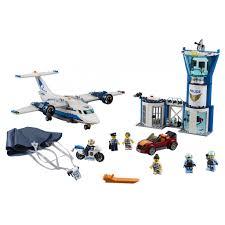 <b>Lego City Воздушная</b> полиция Авиабаза конструктор 60210 ...