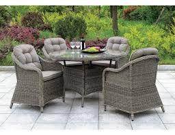 ansonia 5 piece round patio table set jpg
