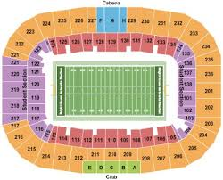 Fiu Football Stadium Seating Chart Bright House Networks Stadium Tickets And Bright House