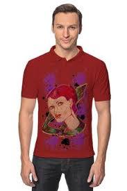 "Рубашка Поло ""Девушка в галстуке."" от Printissimo | Мужские ..."
