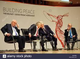 Marks Design Belfast Closed Former British Prime Minister Tony Blair And Former Us
