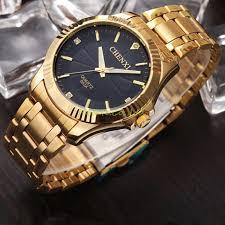 titan gold watches for men best watchess 2017 natate chenxi clock gold fashion men watch full stainless