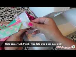 How To Bind A Quilt (with mitered corners and an invisible join ... & How To Bind A Quilt (with mitered corners and an invisible join) Adamdwight.com