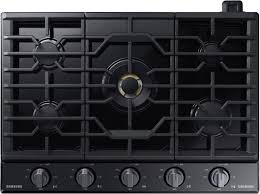 black stainless gas cooktop. Simple Black Samsung  Chef Collection 30 Inside Black Stainless Gas Cooktop