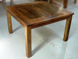 Rustic Square Dining Table