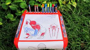 Be the first to comment. Simba Toys Spiderman Coloring Table Toy Review Youtube