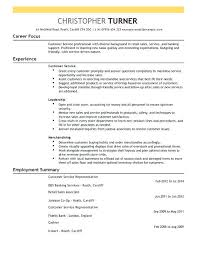 Customer Service Resume Sample Customer Service Resume Description Examples Script Recognition 47