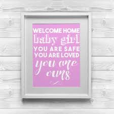 Welcoming Baby Girl Best Welcome Baby Decorations Products On Wanelo