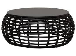 glamorous round rattan coffee table of furniture pretty outdoor wicker australia