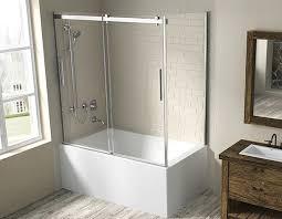 hydria bathtub door for corner installation