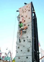 backyard rock climbing wall plastic kids outdoor decorating