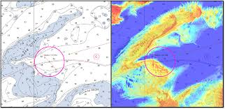 What Do The Colors Denote In A Bathymetric Chart Studying The Use Of Satellite Derived Bathymetry As A New