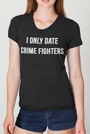 Crime Fighter Womens T Shirt American Apparel S M L Xl