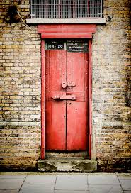door photograph old red door by heather applegate