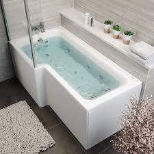 Bath Panel Lights Details About 1700x850mm Lh L Shape Whirlpool Jacuzzi Bath 26 Jets Bath Screen Front Panel