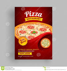 Flyer Pizzeria Design Pizza Restaurant Flyer Or Template Design For Food Corners