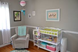chair rail nursery. Fine Rail Chair Rail Nursery Stylish On Bedroom Throughout Baby Betty S Retro Girly  Creative 9 Intended N