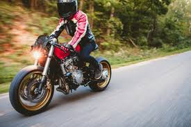 rosso corsa a honda cb600f cafe racer inspired by a ferrari