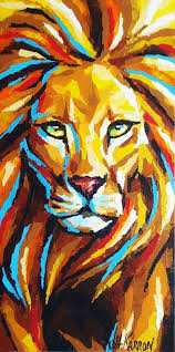 lion painting acrylic. Perfect Lion Lion Painting 100 Artistic Acrylic Painting Ideas For Beginners Please  Also Visit Just You Prophetic Art Intended I