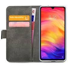 Mobilize Classic Gelly Wallet <b>Book</b> Case Black <b>Xiaomi</b> Redmi Note 7