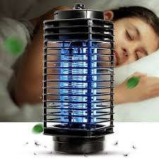 110V LED Electric Mosquito Fly Bug Insect Killer Lamp Mosquito Repellent  Night Lamp Zapper US Plug - Black - On Sale - Overstock - 28526986
