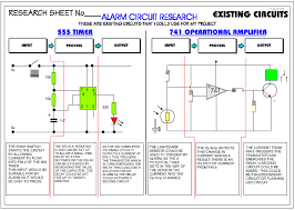 a systems diagram how to make a simple burglar alarm at Sample Schematic Diagram For Alarm