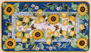 Italian Ceramic Table Tops Extraordinary Italian Ceramic Tables Patio Buy  Online Leoncini Italy Inspiration Design
