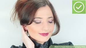 image led apply makeup for a fancy party step 20