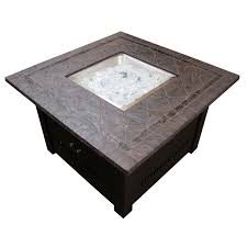 Square Fire Pit Table   Hayneedle