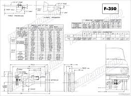 ford truck body builders layout books fordification info the F350 Frame Diagram f350 chassis page 8 Ford F-350 Frame Width