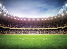 Voetbalstadion Fotobehang Behang Bestel Nu Op Europostersnl