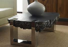 Negotiation Table With Stainless Steel Legs - Phillips Collection  Luxe Home Philadelphia