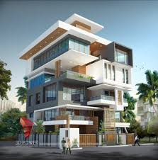 apartment building design. Apartment Interior Elevation 3d Architectural Building Design N