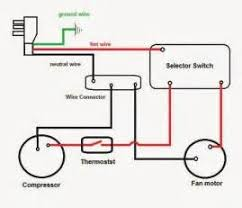 ac dual capacitor wiring diagram images wiring daigram of single ac capacitor wiring diagram ac electric