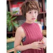 個性ある女の子ショートa Cover Hair Bliss 北浦和西口店カバーヘア