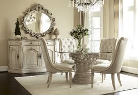 elegant image of dining room design with round white dining table interesting image of small