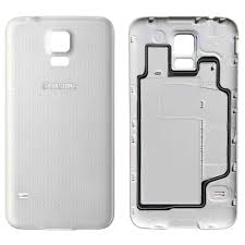 samsung galaxy s5 shimmery white. official samsung galaxy s5 battery cover case - shimmery white ef-og9008w o