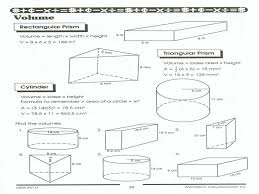 Finding Volume Worksheets | Homeschooldressage.com