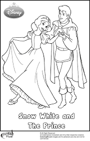 snow-white-and-the-prince-coloring-pages.jpg (980×1518) | art ...