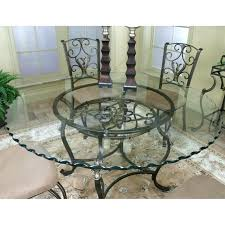 round metal dining table with glass top enzo circular metal dining table glass top