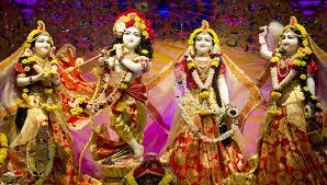 Lord Krishna And Radha In Iskcon Temple ...