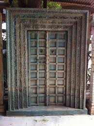 an antique indian door we purchased while in india discoveriesla