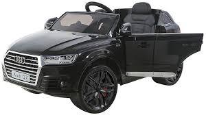 Детский <b>электромобиль Audi Q7</b> LUXURY 2.4G - Black - HL159 ...