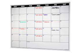 l n stick dry erase calendar decal