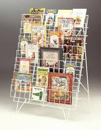 Single Book Display Stand Book Display Rack Portable Cosmecol 80