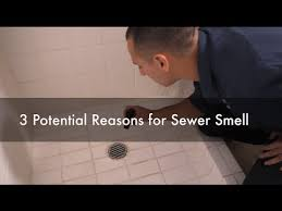 sewer smell in my bathroom