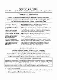 Chief Operating Officer Resumes New Coo Job Description Template Vraccelerator Linuxgazette