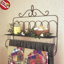quilt rack hanger towel holder shelf rods wall mounted stand blanket